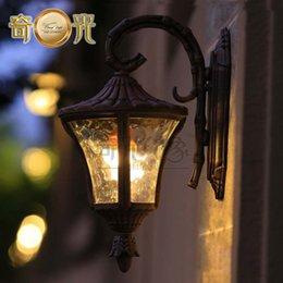 Wholesale European pastoral wall lamp outdoor lighting garden lights waterproof lights die cast aluminum waterproof balcony corridor W5715