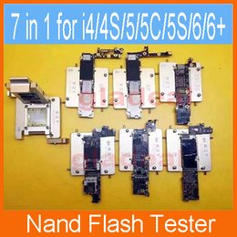 Wholesale HD Nand Flash Tester Tool for iPhone S C S Plus Repair iCloud ID Bypass Unlock Cellphone Mobilephone Machine