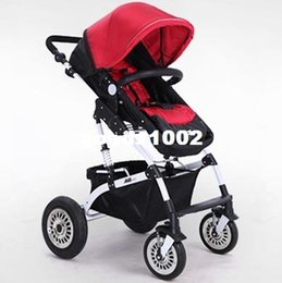Wholesale Stroller Shock Absorbers - Good Shock Absorbers Deluxe Baby Strollers,High Chair, with 2 Pneumatic Wheel +2 EVA Wheel