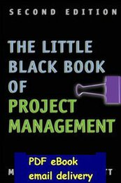 Wholesale The Little Black Book of Project Management nd Edition