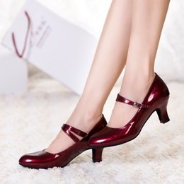Wholesale Shoes Factory Latin autumn and winter shoes with adult women in friendship dance shoes women soft bottom shoes modern shoes free s