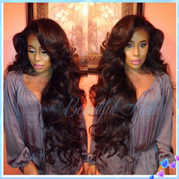 Brazilian,Indian,Peruvian,Malaysian Top Quality Body Wave Human Natural Color Virgin Hair Full Lace Wigs Frontal Lace Wigs with Baby Hair
