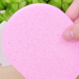 Wholesale New Stylish Makeup Cosmetic algae foundation sponge powder puff facial