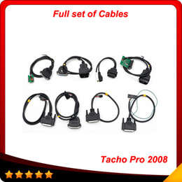 Wholesale Tacho Pro Unlock July Version full set cableTacho Universal Dash Programming Tool just full set cable In stock