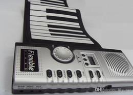 20pcs 61 llaves USB silicio flexible rueda para arriba Electronic piano MIDI del teclado del instrumento musical portátil de envío órgano electrónico gratuito desde enrollar 61 teclas fabricantes