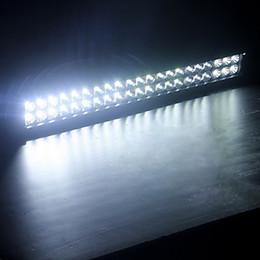 126W 50.6 * 7.3 * 10.7cm Mixage 6000K 42-CREE LED Lumière de travail à deux lignes Bar DIY utilisé dans le phare voiture / bateau / auto à partir de 42 barres lumineuses dirigées fournisseurs