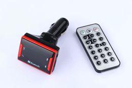 Universal MiNi A2DP 2.0 Bluetooth Car Kit Handsfree Wireless FM Transmitter USB Charger MP3 Player Car Bluetooth Speaker