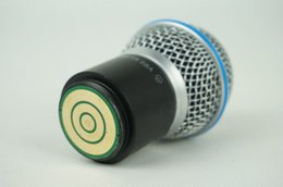 Wholesale wireless microphone handheld MIC Beta a head capsule grill for PGX24 SLX24