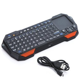 Portable Mini Bluetooth Keyboard w Touchpad Wireless Gaming Keyboard for Laptop Smartphones Computer Laptop TV BOX Tablet PC