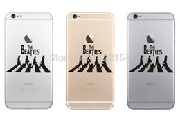 Wholesale The Beatles Band Mobile Phone Decal Sticker for iPhone Plus s c s Decal Cellphone Vinyl Skin Adesivo Pegatina