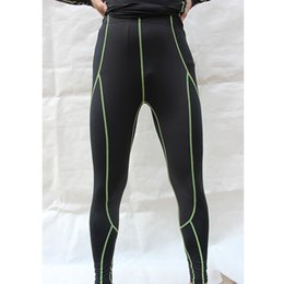 Wholesale-Gym Sports Breathable and Quick Dry Long Tights Bottoms Gym Fitness Pants Green Red Gray  S-2XL