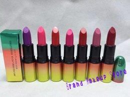 Wholesale 2015 New Makeup Lipstick AMPLIFIED CREME LIPSTICK ROUGE A LEVRES different matte lip stick g