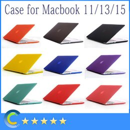 Wholesale Matte Slim Rubberized Hard Shell Case with Silicone keyboard Cover for Apple Macbook Air Inch Pro Inch Retina Inch