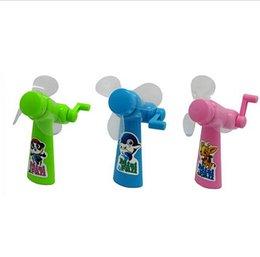 Wholesale Children Gift For Kids Summer Manual fans Portable Small Mini Hand Fan Mini baby fan Cartoon baby fans DDA2905