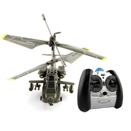 Wholesale SYMA S109G CH Gyroscope Remote Control Helicopter Toy Army Green SZZ