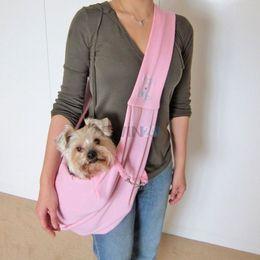 Puppy Pet Dog Cat Reversible Sling Carrier Single Shoulder 3pcs