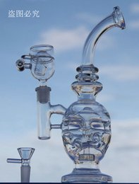 JUNE New Glass bong fab egg Bongs original Faberge Egg Water pipe recycler bongs oil rig dabs glass bongs