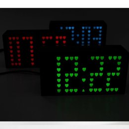 Wholesale Multifunction LED Digital canvas picture wall clock Hot Sale