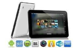 Descuento 3g usb libre La nueva cámara dual 1024 * 600 de la PC MTK6572 1GB / 16GB de la tableta de la llamada de teléfono de Phablet de la tableta 3G de la tableta de 10.1 pulgadas dual SIM 4.2 dual libera
