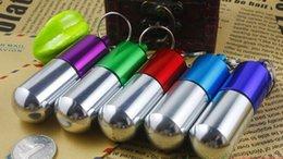 Wholesale Best price Large Size Pill Medicine Box Holder Outdoor Cartridge Keychain Waterproof