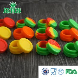 FDA Approval 5ml silicone container for wax oil, Non-stick container silicone jars for wax oil extract bho