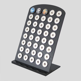 Wholesale High end black buttons display for all snaps and snaps jewelry as snaps bracelets snaps necklace XX0085