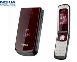Unlocked Original Nokia 2720 Refurbished Cell phone 1.3 MP 2G Network GSM 900   1800 Arabic Russian English keypad