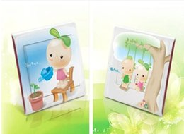 Wholesale Personality Mung Bean Baby Lovely Switch Stickers For Kids Rooms DIY Wallpaper Papel De Parede Infantil