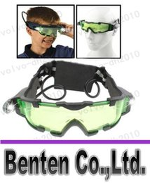 Wholesale llfa456 Night Vision Goggles with Flip out Blue LED Lights