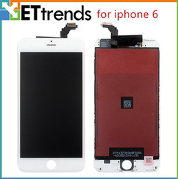 Wholesale Grade AAA NO DEAD PIXEL for iPhone LCD Display Assembly Digitizer by DHL