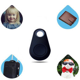 Wholesale iTag Bluetooth GPS Tracker Key Finder Anti Lost Alarm Tracer Mini Smart Devices for all Mobile Phones with OPP Bag