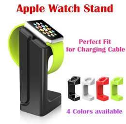 Wholesale Apple Watch iWatch E7 Stand Magnetic Charge Dock Stander Holder Lazy Bracket Plastic Intelligent Display mm mm Charging Stand