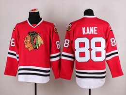 Wholesale New Hot Patrick Kane Hockey Jersey Blackhawks Team Uniforms Cheap Brand Ice Hockey Jerseys Red Athletic Outdoor Apparel Mix Order