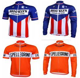 Wholesale-Hot sale SAN PELLEGRINO RETRO bicycle cycling jerseys man's short sleeve mountain bike clothing jersey, ciclismo