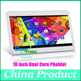 Wholesale New Come Dual SIM Card inch Tablet PC MTK6572 Dual Core GB GB Android WCDMA G GSM Phone Call Phablet Dual Camera