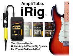 Wholesale New High Quality Rig Guitar Link Audio Interface AMP Multimedia Rig System Guitar Effects Pedal Convertor for iPhone iPad iPod