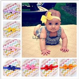 Cute baby accesorios de fotografía en Línea-20 Color Infant Headbands Acccessories Headbands Chica Headwear Niños Bebé Fotografía Accesorios NewBorn Cute Bow Accesorios de pelo A1B58A