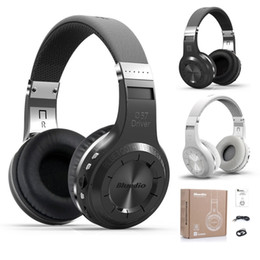 Wholesale Bluedio H Turbine Bluetooth Stereo Wireless Headphone Built in Mic Micro SD FM Radio BT4 Over ear Headphones