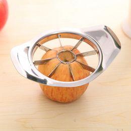 Wholesale 1PCS Stainless Steel Vegetable Fruit Apple Pear Cutter Slicer Processing Kitchen Utensil Tool New