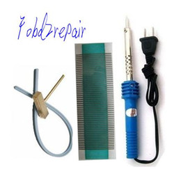 Wholesale Fobd2repair saab ac unit LCD Pixel Repair Ribbon Cable T Iron Soldering Tool saab air condition dead pixel fix kits
