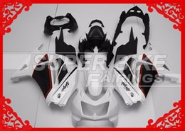 Wholesale NEW fairings gift Screws bolts White And Black Aftermarket ABS Motorcycle Fairing Kits For Kawasaki Ninja EX250 Bike