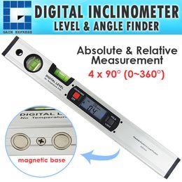 Wholesale G0182105 JY4 Level Inclinometer Digital Angle Finder Spirit Level x degree degree range with Magnets