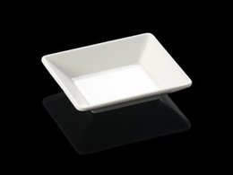 New Fashion Dinner Plate Melamine Dinnerware Square Shallow Plate Chain Restaurant With Melamine Plate A5 Melamine Tableware