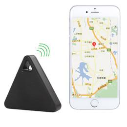 Wholesale iTag Smart Wireless Bluetooth Tracker GPS Locator Alarm For Car Bag Dog Pets Child Black Color LIF_821