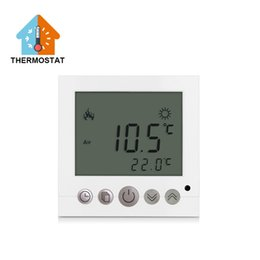 Wholesale best quality for room Floor Heating Electronic Thermostat with LED light