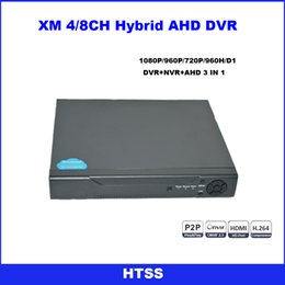 Wholesale Security Surveillance P N CH CCTV AHD DVR AHD M Hybrid DVR P NVR Digital Video Recorder For AHD Camera IP Camera Analog Camera