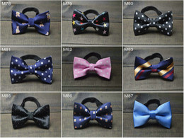 2015 kids bowties new design Bowtie dot kids bow Tie Baby Boys Necktie kids girls accessory high quality ties for children