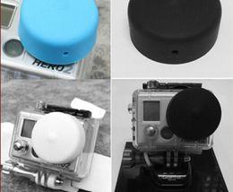 Wholesale 2015 New Arrival Real Sale Oscilloscope Multimeter Sokkia Selling Silicone Cap for Gopro Hero2 Blue Black White Accessories