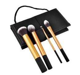 Wholesale 4pcs Makeup Brushes Cosmetic Brushes Set Make Up Tools Kit Make up Brush Set Core Collection Cosmetic Beauty Makeup Brush