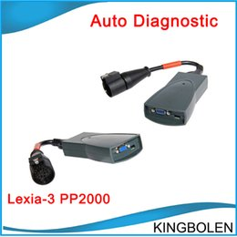 Wholesale 2015 latest version High Quality Lexia V48 PP2000 V7 peugeot citroen diagnostic tool Lexia with DHL